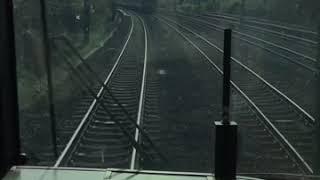 [特急<新快速]京都→新大阪[前面展望]