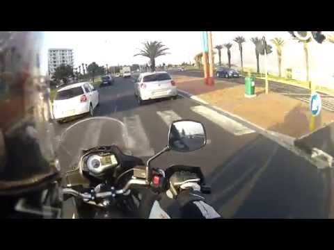 (Cape Town) Bloubergstrand to Mowbray motorcycle commute
