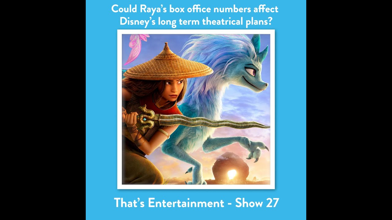 "WILL ""RAYA..."" CAUSE DISNEY TO CHANGE THEIR THEATRICAL PLANS?"