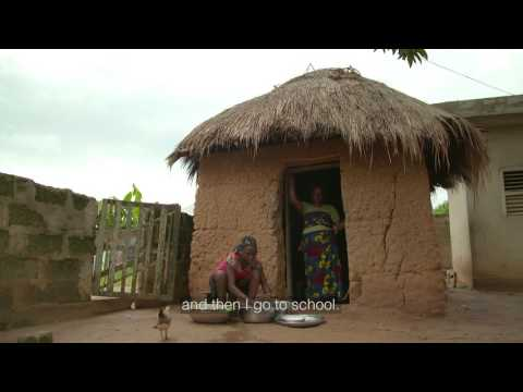 Meet Rose from Benin - A day in her life