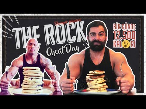 Dwayne Johnson Cheat Day | Bir Günde 12500 Kalori 😵
