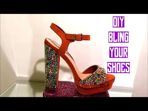 DIY | BLING YOUR SHOES