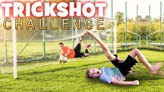 Twins Trickshot Challenge! Can Kids Beat an Adult??