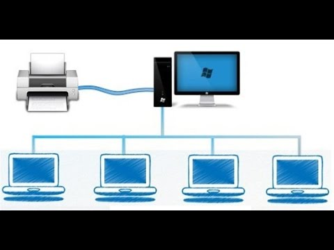 How to Share Printer Over Network