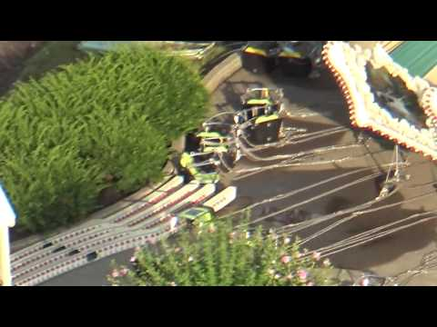 Zephyr Chair Swing Ride COLLAPSE at Kings Island Amusement Park