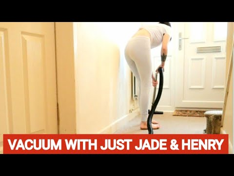 VACUUMING WITH JUST JADE AND HENRY