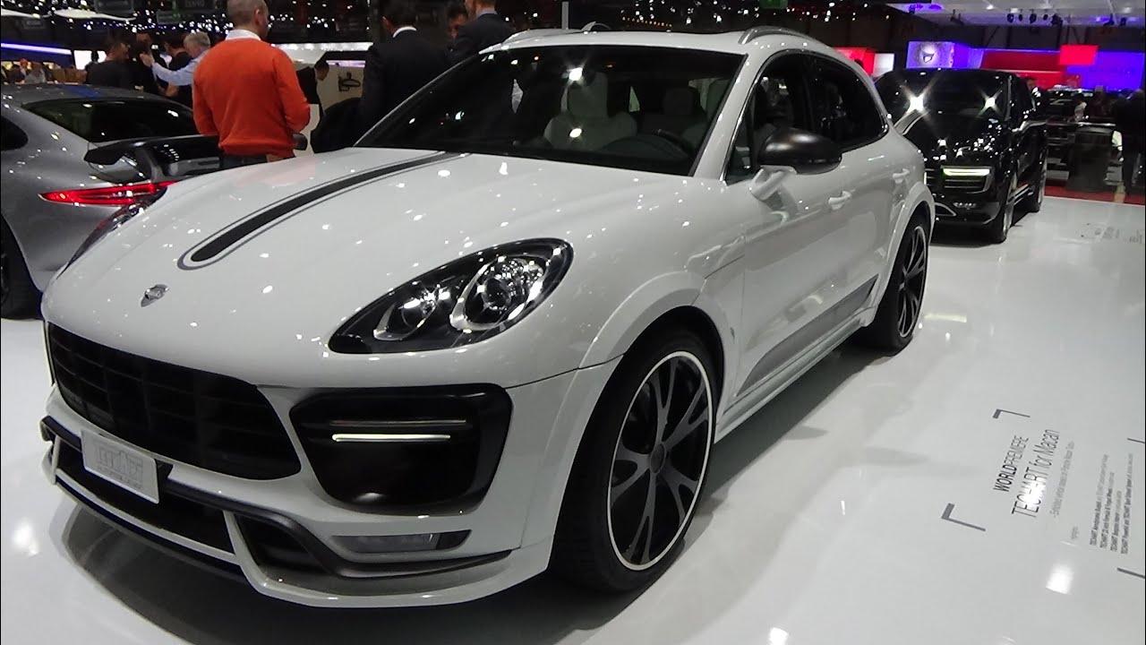 Porsche Macan Gts Interior >> 2016 - Techart Porsche Macan Turbo - Geneva Motor Show 2015 - YouTube