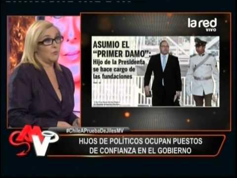 Se apitutaron los hijos de...en el gobierno de Michelle Bachelet