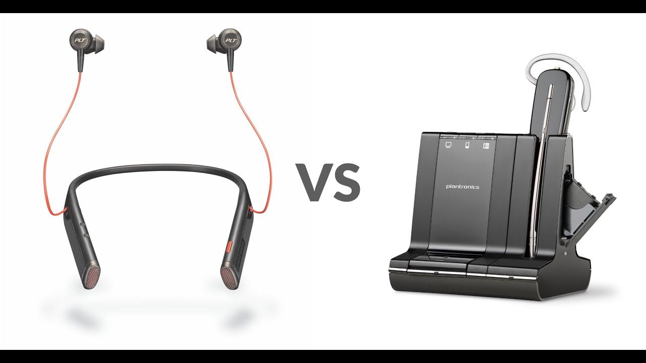 Plantronics Savi W745 vs  Voyager 6200 UC Office Headset Review