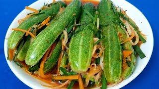 Kim Chi Dưa Leo - Cách làm Kim Chi Dưa Leo giòn rụm ngon cơm ngày nắng by Xanh TV