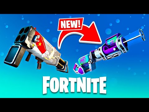 New WEAPONS and MAP UPDATE in Fortnite! (Season 5)