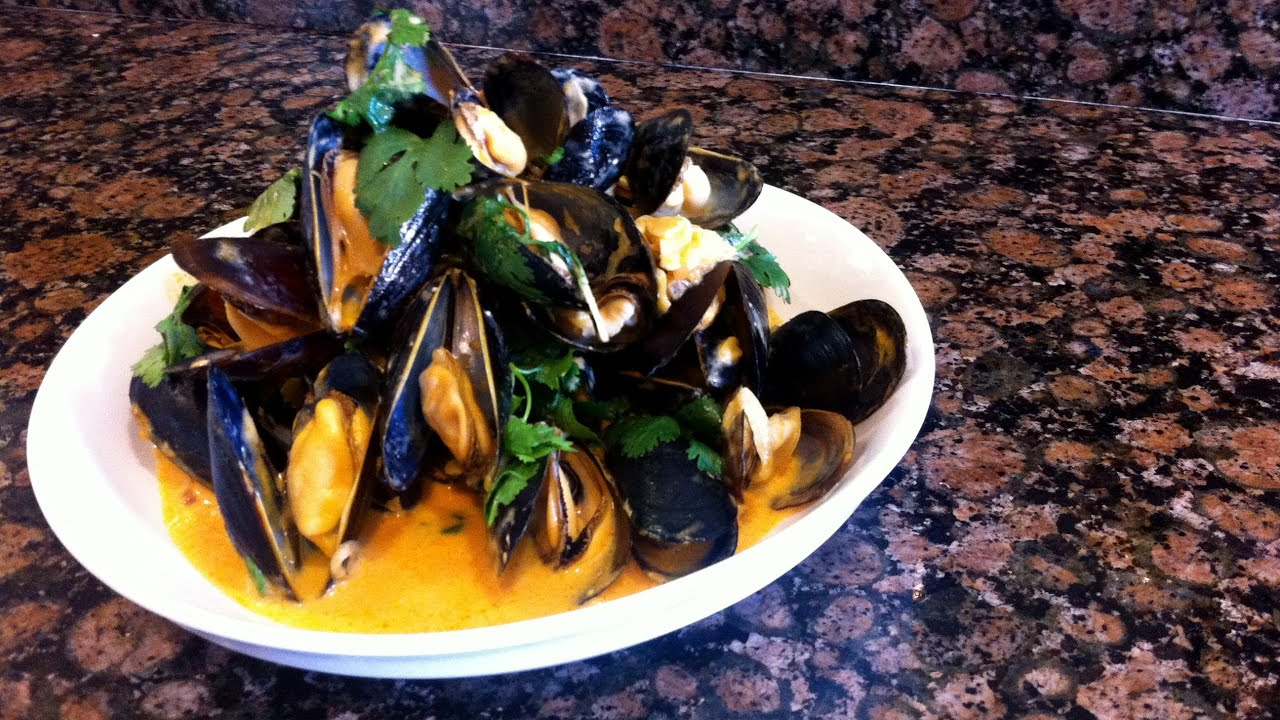 Thai Steamed Mussels Recipe - YouTube