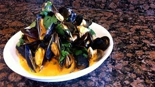 How To Make The Best Thai Steamed Mussels Recipe