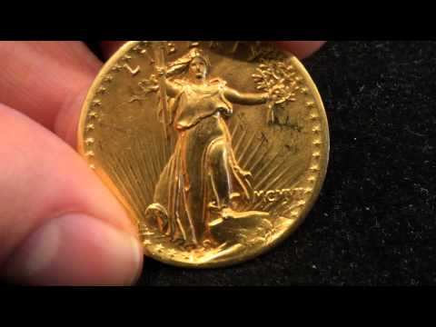 1907 High Relief St Gaudins Gold Coin? I Got My Hands All Over This