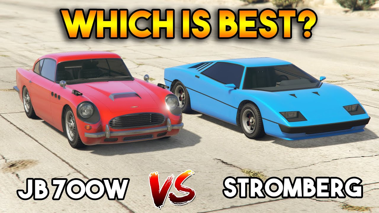 GTA 5 ONLINE : JB 700W VS STROMBERG (WHICH IS BEST JAMES BOND VEHICLE?)