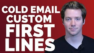 15 Ways To Write And Personalize A First Line In A Cold Email