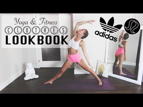 YOGA & FITNESS CLOTHES LOOKBOOK