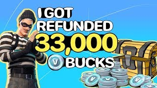 Epic Games DELETED My Fortnite Account - How I Got Refunded All Of My V Bucks