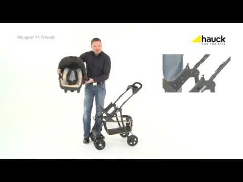 c65995f30252 Hauck Shopper Trio Set 3in1 Travel system - YouTube
