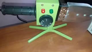 Обзор паяльника пластиковых труб Eltos ППТ 1800