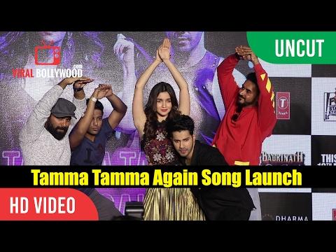 UNCUT- Tamma Tamma Again Song Launch | Varun , Alia | Bappi L, Anuradha P | Tanishk, Badshah