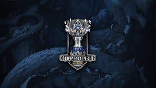 Worlds 2017 Finali SK Telecom T1 SKT Vs Samsung GALAXY SSG