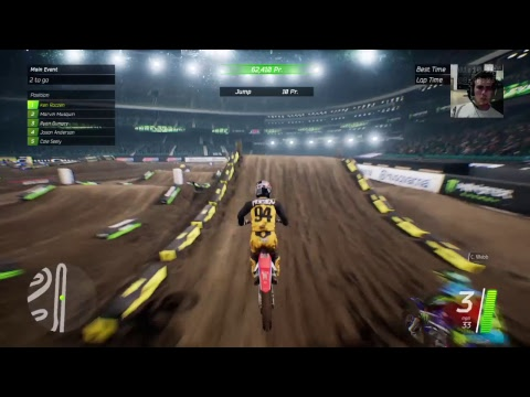 Monster Energy Supercross: The Video Game- career