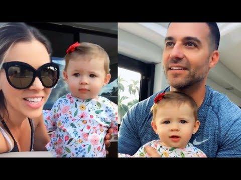 Ximena Duque y su esposo de paseo familiar con su hija ...