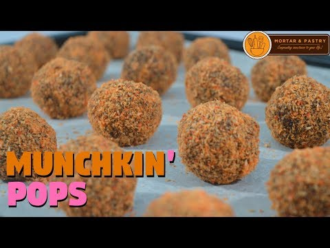 EASY CHOCO BUTTERNUT MUNCHKIN POPS!   Ep. 64   Mortar and Pastry