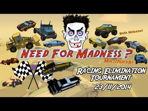 [NFMM] The Racing Elimination Tournament! [Group 2 + Finals]
