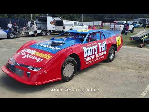 super sedans practice latrobe speedway 12/10/19
