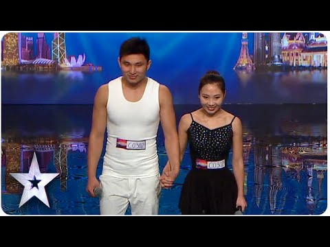 Gao and Liu's Golden Buzzer Acrobatic Ballet | Asia's Got Talent 2015 Ep 2