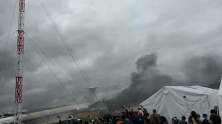 Тушение пожара. Выставка МЧС в Ногинске 2017
