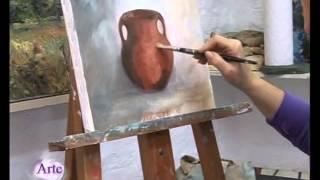 Técnica al óleo con ocres