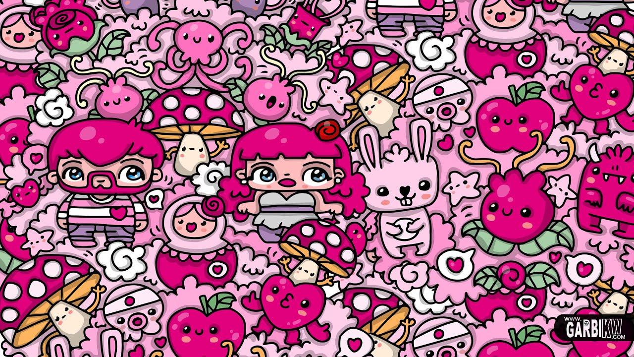 KAWAII Pink WORLD - #Kawaii Graffiti and Cute Doodles by ...