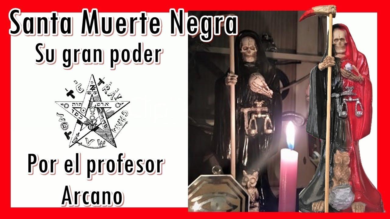 💀💀  Santa Muerte Negra - profesor Arcano 💀💀