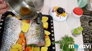 Наивкуснейшая рыба Амур в духовке.