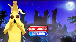 *MANSION ENCANTADA* EN FORTNITE (PARKOUR MINIJUEGO)