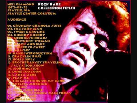 "Neil Diamond ""Kentucky Woman"" live Seattle, WA 1972 and funny dialogue"
