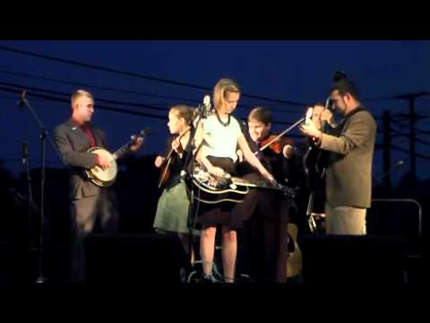 """Angeline The Baker""- ETSU Bluegrass Pride Band @ Abingdon, Virginia 9/11/10"