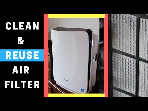 Air Purifier with Washable Filter   Tips on How to Clean Reusable Air Filter