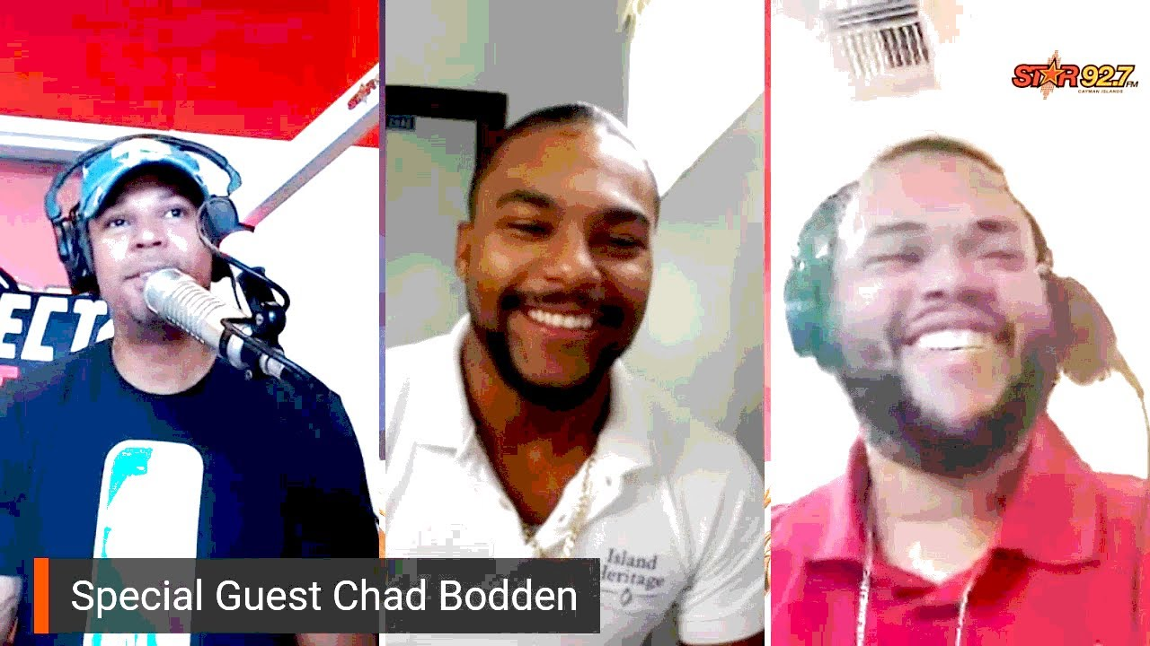AM Start Morning show with guest Comedian Chad Bodden