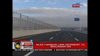 NLEX Harbor Link Segment 10, binuksan na
