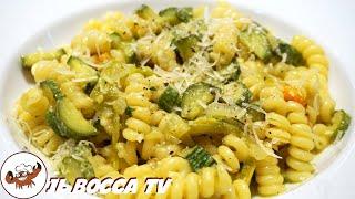 400 - Carbonara di zucchine...per chi ha il palato fine! (Pasta vegetariana facile buona e leggera)