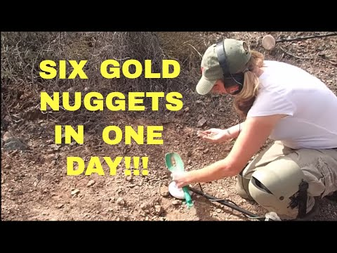 Six Gold Nuggets In One Day!