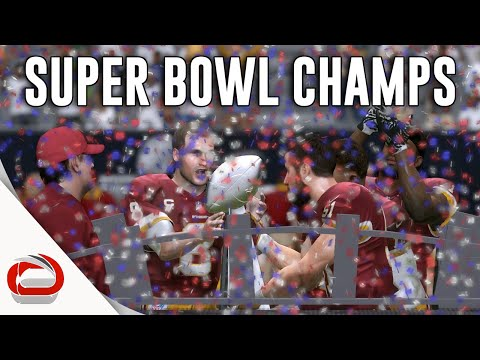 WASHINGTON REDSKINS - SUPER BOWL LI CHAMPIONS - MADDEN 17