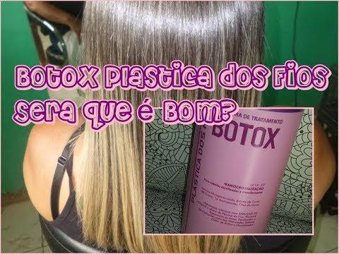 f6200e82a Botox Plástica dos Fios Funciona? alisa? - YouTube