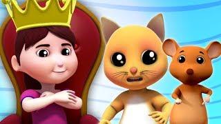киска кошка киска кошка | детские рифмы для детей | детские стишки | Farmees Russia | Pussy Cat