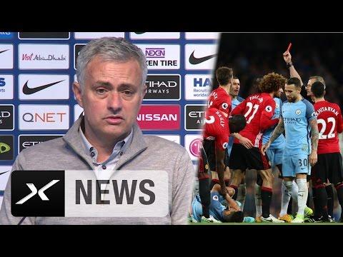 "Jose Mourinho spottet: ""Sergio Aguero immer noch hübsch"" | Manchester City - Manchester United 0:0"