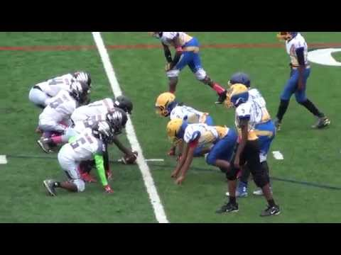 1st Half (Pop Warner Playoffs) Chicago Chargers@Hillside Hurricanes Football (10-24-15) Gm4 (Rita)